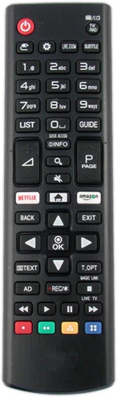 Mando a Distancia de Repuesto Compatible para LG 49UJ670V LED HDR ...