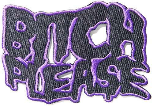 BITCH PLEASE Funny Biker Logo Jacket T-shirt Patch Sew Iron on Embroidered Sign Badge Costume Clothing -