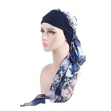 864fb8952 iShine Chemo Headwear Turbans for Women Long Hair Head Scarf ...