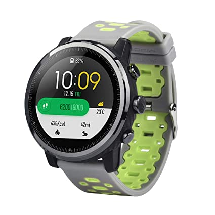Zolimx Deporte Suave Silicona Correa de Reemplazo Pulsera Relojes Inteligente para Xiaomi Huami Amazfit Stratos 2/2S Fitness Smartband