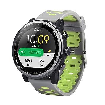 Xiaomi Amazfit Stratos 2 2S Correa, Zolimx Ligero Ventilar Silicona Suave Reloj Banda Pulseras de Repuesto de Muñeca para Huami Amazfit Stratos Smart Watch ...