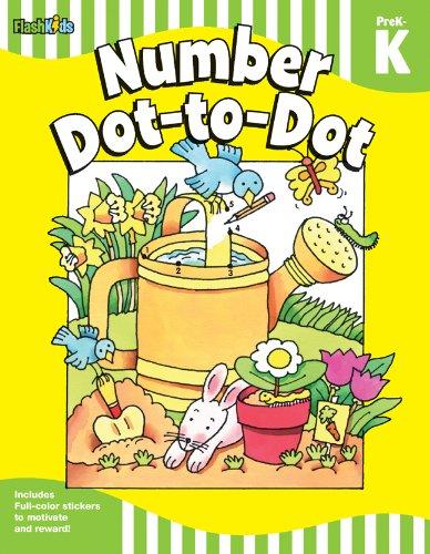 Number Dot-to-Dot: Grade Pre-K-K (Flash Skills)