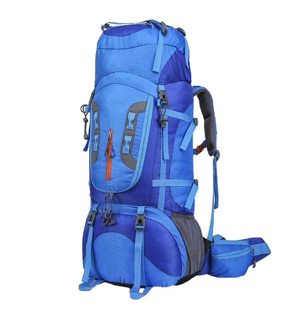 JSHFD Outdoor-Bergsteigen-Tasche, Camping Wandern Zelttasche 80L