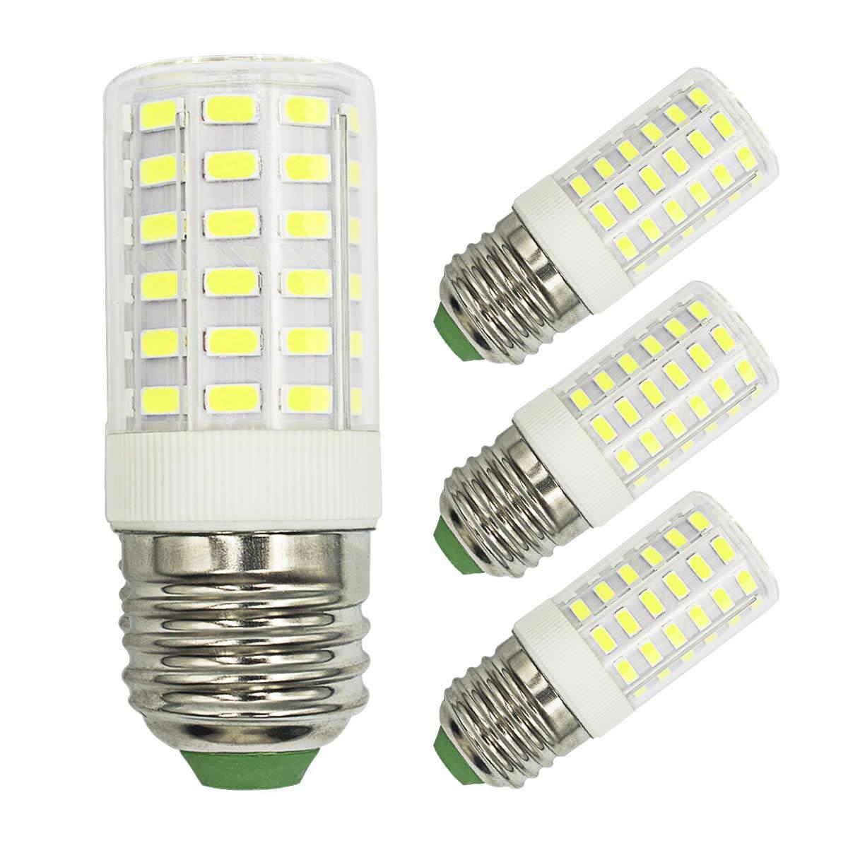 100W Halogen Equivalent Daylight White 6000K LED Light Bulbs, 1000 Lumen 7W, AC 100-265V, E26 Medium Screw Base, Non-Dimmable, 360°Beam Angle No Flicker led Bulb (Pack of 3)
