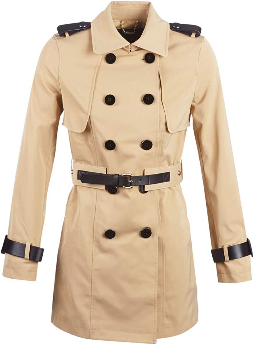 Guess Christina Trench Mäntel Damen Beige XS Trenchcoats