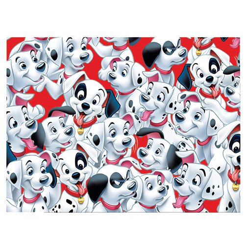 Disney 180 x 120cm Plastic 101 Dalmatians Table Cover