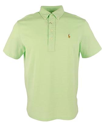 4a75f1dda Polo Ralph Lauren Men s Hampton Knit Oxford Short Sleeve Polo Shirt-LW-XXL  at Amazon Men s Clothing store
