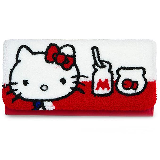 5ff304d9e Loungefly X Hello Kitty Fish Bowl Tri-Fold Wallet in Red/White: Amazon.ca:  Clothing & Accessories