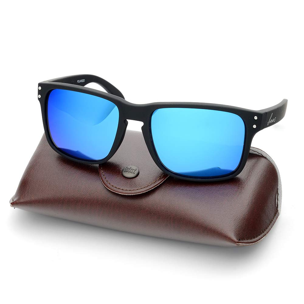 5453375d9f0 Bnus italy made classic sunglasses corning real glass lens w. polarized  option