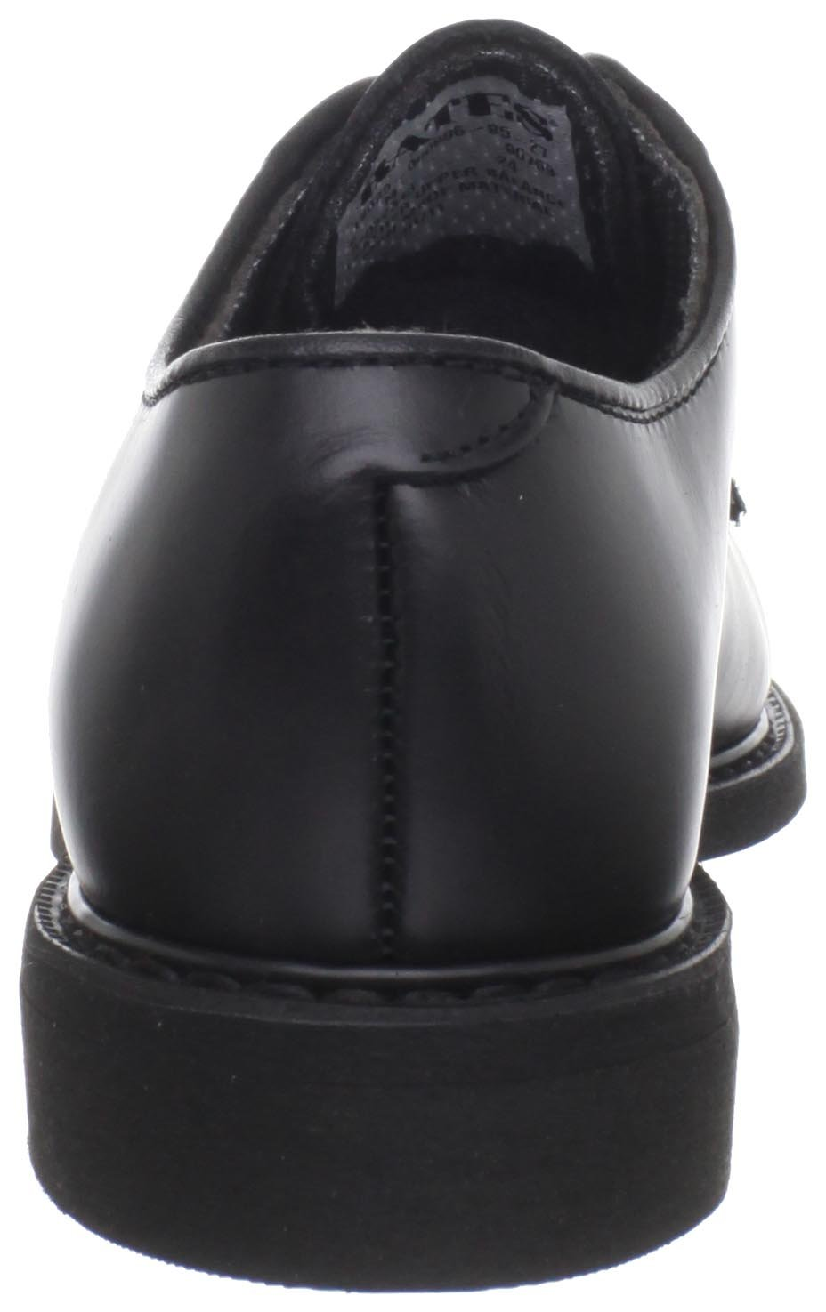 Bates Women's Leather Uniform Shoe B000G5TH44 6.5 M US|Black