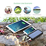Solar Charger, Outtek 15000mAh Solar Power