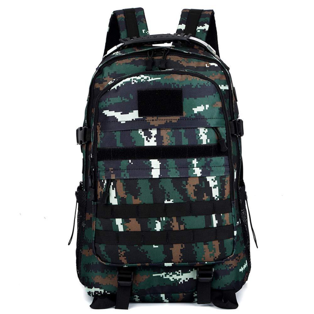 QWKZH Sacs à Dos Loisir Sac à Dos de Sport Camouflage Sac à Dos Plein air Multi-Fonction Sports de Plein air