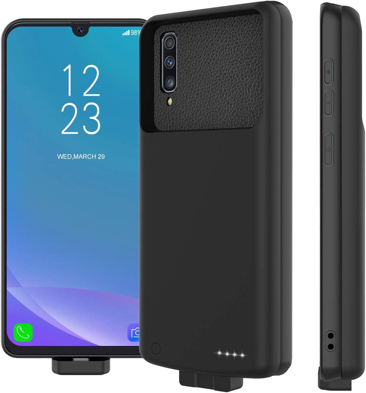 Funda Con Bateria De 7000mah Para Samsung A50 (xam)