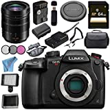 Panasonic Lumix (DC-GH5S) Mirrorless Micro Four Thirds Digital Camera Leica DG Vario-Elmarit 12-60mm f/2.8-4 ASPH. POWER O.I.S. Lens Bundle