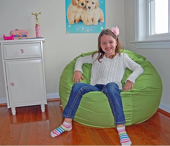 Amazon.com: Ahh. Productos Cal algodón orgánico grande puf ...