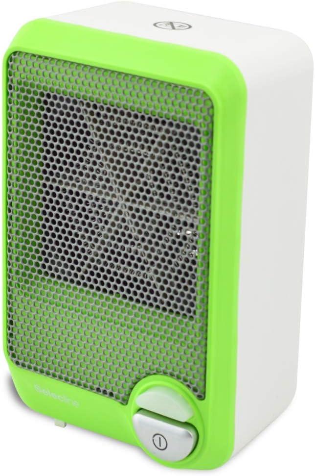 Selecline FH101 Calentador de ventilador Interior Verde, Blanco ...
