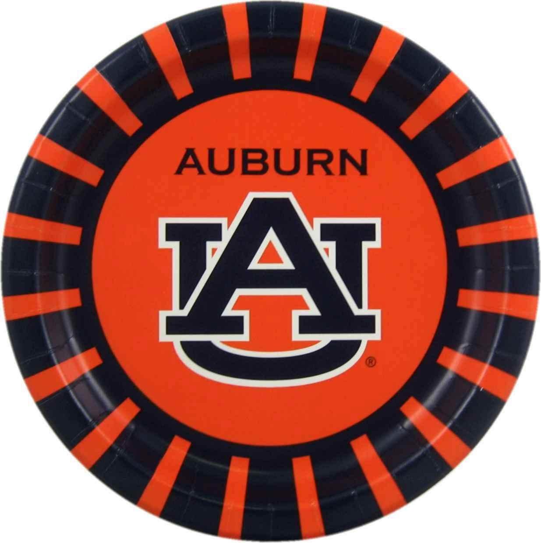 Serves 16 80 Pieces Westrick Auburn Tigers Party Supplies