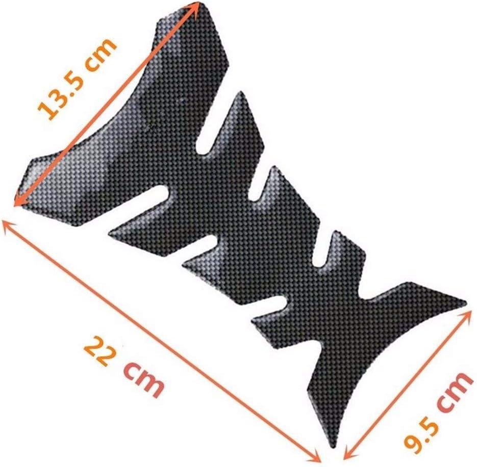 F3 Haute qualit/é R/éservoir de carburant moto autocollant Moto Racing Fibre gaz Bouchon de r/éservoir de protection Pad Sticker Decal Voor 600 F2 Cbr F4i FVR Vfr CB400 CB1300 Simple et g/én/éreux f4
