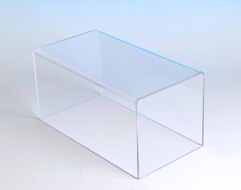 Amazon.com: Rectangular Box Case | 5 Sided Display Box | Measures ...