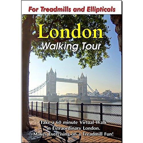 London Walking Tour - Treadmill Scenery DVD (Vita Walking Dvd)