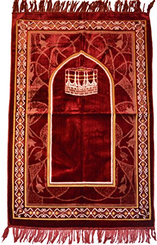 Islamic Prayer Rugs Made In Turkey With Fine Velvet