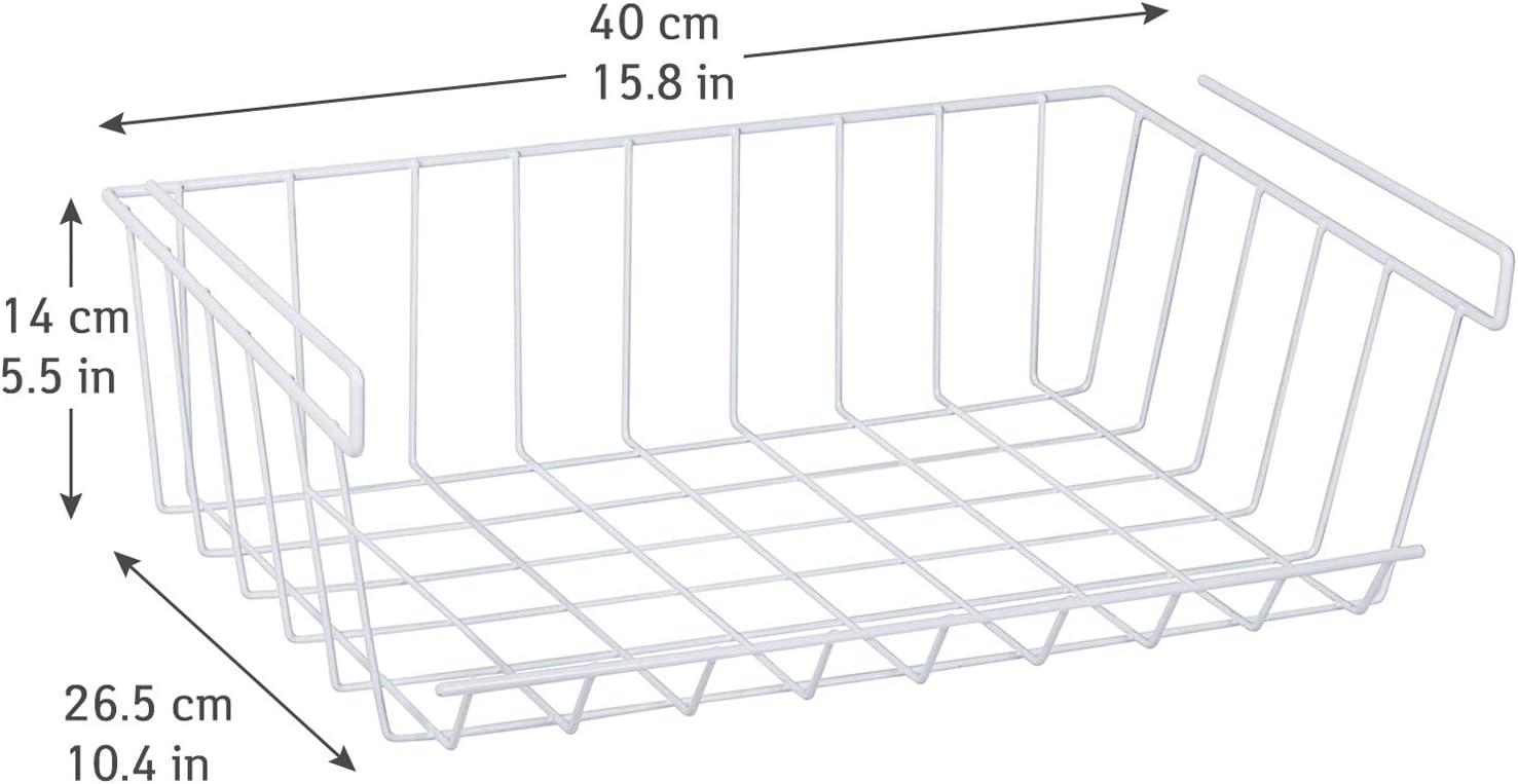 Artmoon Extra Estante Intermedio Cesta Metal Cromado 40X26.5X14 cm