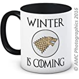 Winter is Coming - Stark Sigil - Game of Thrones - High Quality Coffee Tea Mug