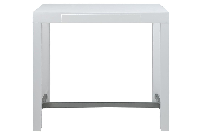 AC Bartisch Design Furniture Bartisch AC Laura, B  120 x T 60 x H  105 cm, MDF, Weiss bb3a02