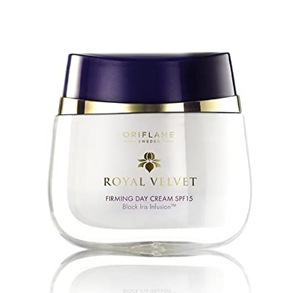 oriflame royal velvet 40+ set : firming day cream spf 15 + repairing night cream by oriflame Spa Sister Boxed Soft Complexion Brush, Pink