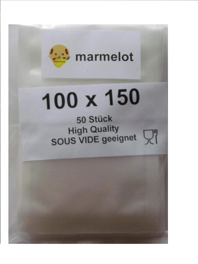 Bolsas envasado al vacío, 250 bolsas 10x15cm, gofrada, Para envasadoras de vacio domésticas de todo tipo