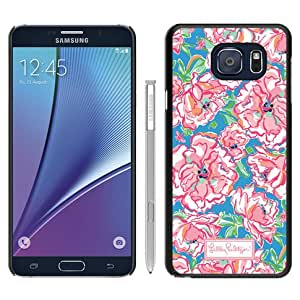 Lilly Pulitzer 28 Black Recommended Picture Custom Samsung Galaxy Note 5 Case