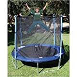 : Variflex Spring Trampoline with Safety Enclosure- 8'