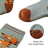 Giraffe Warm Crew Socks Boys Girls Winter Sock Cute
