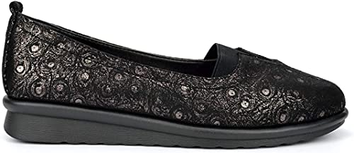 Boulevard Womens Wide Fit Casual Shoes
