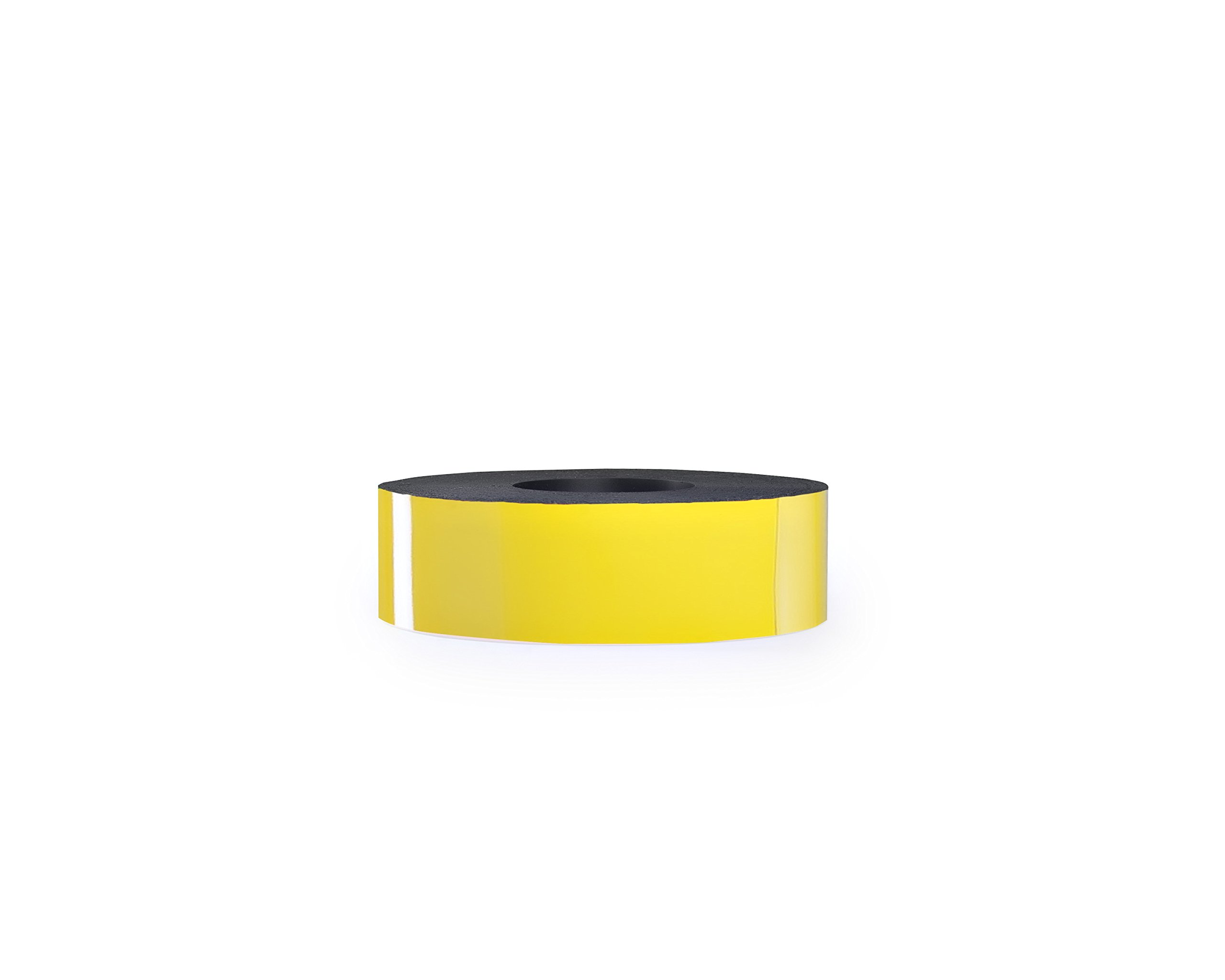 30 Mil Dry Erase Magnetic Strip Roll - Yellow - 2'' X 25'