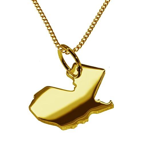 GUATEMALA Partidario en masivamente 333 oro amarillo y cadena