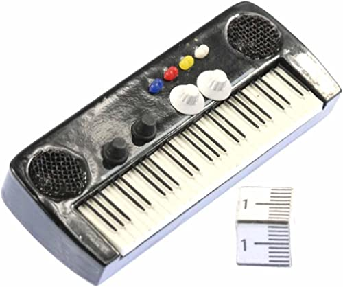 Miniblings Teclado de Piano Piano electrico Broche de organos Pin - Hecho a Mano joyería de Moda Boton i Pin prendedores