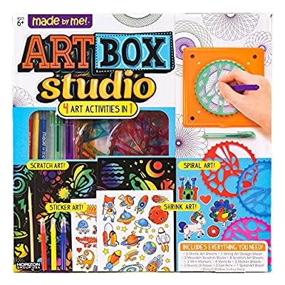 Made By Me Art Box Studio by Horizon Group USA: Toys & Games