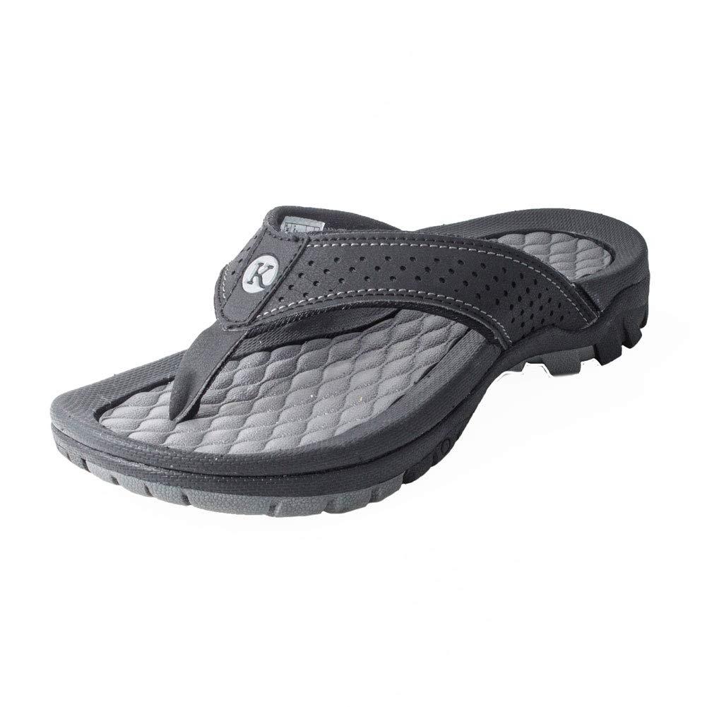 81831cec472 Kaiback Women s Lakeside Sport Flip Flop Sandal - Women s Comfort Footwear