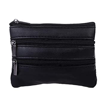 rryilong moda femenina Mini bolso llavero Monedero Zipper ...