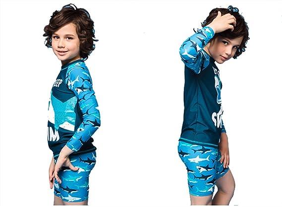 3788223ed Outdoor Peak Bañador para niños con protección Solar y Pantalones Cortos de Secado  rápido