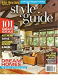 CUSTOM WOOD HOMES, TIMBER HOME LIVING STYLE GUIDE, FALL, 2015 (101 SMART IDEAS)