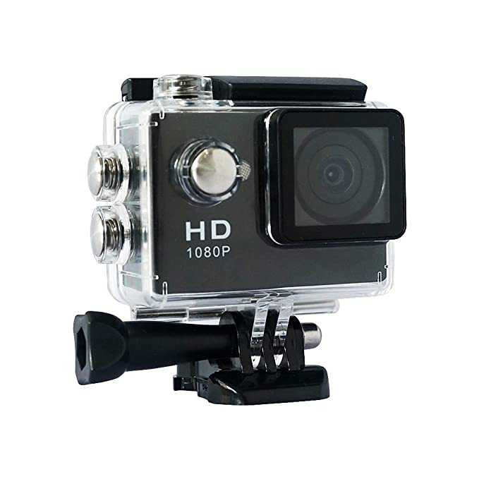 1 opinioni per Yuntab A9 Sports DV 120 Degree Wide Angle Lens 1080P Waterproof up to 30 Meters