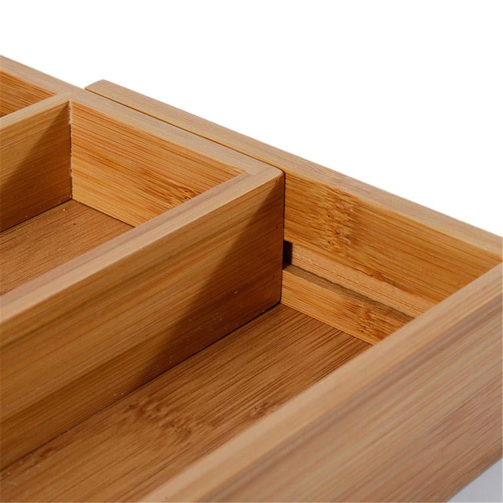 Bad Schlafzimmer Buro Besteckkasten Fur Schubladen Aus Bambus