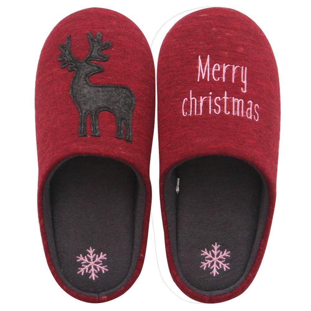 NIGHT WALL Comode Scarpe Slip-on Winter Winter Winter Winter da Donna Carina da casa in Cotone Pantofole da Uomo silenziose, 16,43 Scarpe da casa Indoor & Outdoor 6f75e8