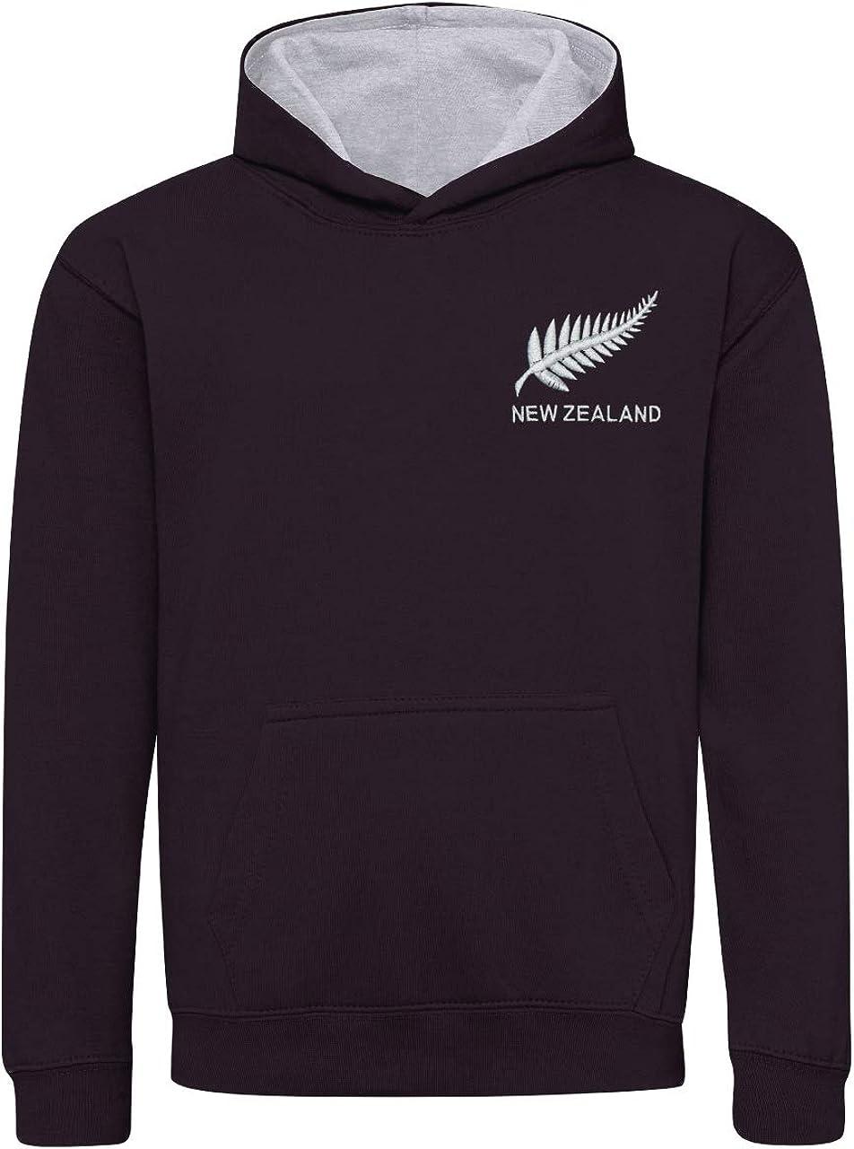 Niños Retro New Zealand Rugby – Sudadera con Capucha para Mujer ...