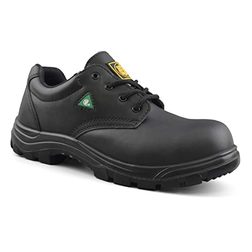 3c1c8587a2 Tiger Men's CSA Lightweight Steel Toe Leather Work Safety Boots 4933
