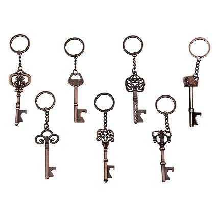 Amazon.com: (Pack of 7) Key Bottle Openers - Skeleton Key ...