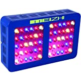 MEIZHI Reflector-Series 300W 450W 600W 900W 1200W LED Grow Light Full Spectrum for Garden Greenhouse Hydroponic Indoor Plants Veg and Flower - Dual Growth Bloom Switches (300 watt)