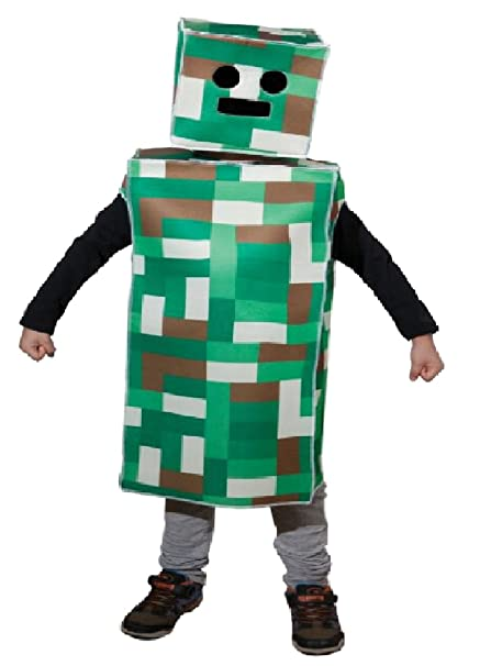 Amazon Com Uhc Boy S Pixel Monster Robot Theme Outfit Child